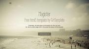 Thumbnail Magister responsive  HTML5 template